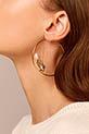 Aurélie Bidermann / Boucles d'oreilles Barbizon