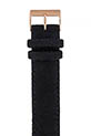 Briston Bracelet interchangeable flanelle noir/or rose