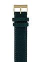 Briston Bracelet interchangeable flanelle vert anglais/or jaune