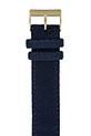Briston Bracelet interchangeable flanelle bleu navy / or jaune