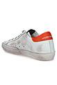 Golden Goose /  Sneakers Superstar, patch orange