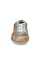 Golden Goose / Sneakers Superstar, étoile orange fluo