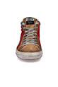 Golden Goose / Sneakers Slide, rouge et étoile noir