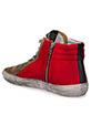 Golden Goose / Sneackers Slide, rouge et étoile noir