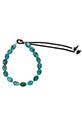 Catherine Michiels Bracelet réglable turquoise