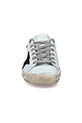 Golden Goose / Sneakers patch argent étoile paillettes noires