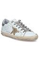 Golden Goose Sneakers patch argent étoile paillettes or