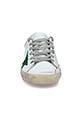 Golden Goose / Sneakers patch doré étoile paillettes vertes
