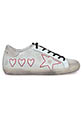 Golden Goose / Sneakers Superstar, Hearts and Star