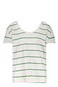 Margaux Lonnberg Tee-shirt Maja Green Stripes