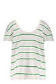 Margaux Lonnberg / Tee-shirt Maja Green Stripes