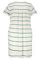 Margaux Lonnberg / Robe Andreas Green Stripes