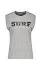 6397 / Débardeur Surf City gris