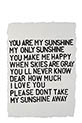 Sugarboo / Tableau You are the sunshine