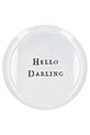 Sugarboo /  Assiette Hello Darling