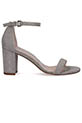 Stuart Weitzman / Sandales Nearlynude Silver