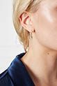 Anine Bing / Boucle d'oreille mini créole éclair