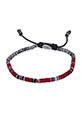M.Cohen / Bracelet Mini African disc rouge