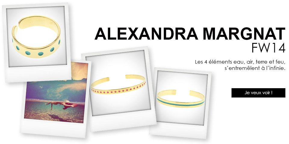 Les bijoux Alexandra Margnat en vente chez Jane de Boy